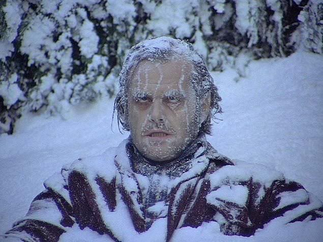 Jack Torrance had trouble with winter too.