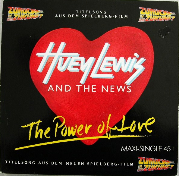 There's also plenty of Huey Lewis and the News propaganda. And you better believe I picked the German image to use.