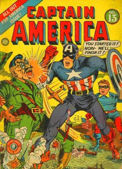 Somehow, this cover didn't have the same punch as the Hitler one.