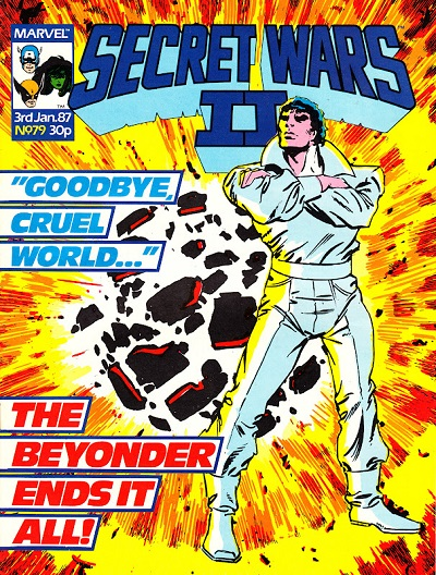 With any luck, the House Science Committee interfering with the military and with secret science will somehow prevent Secret Wars II from ever having happened.