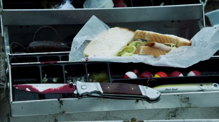 It's a good idea never to leave your ham sandwich unprotected, except when its protection turns into your murder weapon.